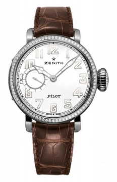 Zenith Pilot Montre d'Aeronef Type 20 Lady Ladies watch, model number - 16.1930.681/31.C725, discount price of £4,665.00 from The Watch Source