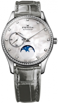 Zenith Elite Ultra Thin Lady Moonphase 33mm Ladies watch, model number - 16.2310.692/81.c706, discount price of £5,185.00 from The Watch Source