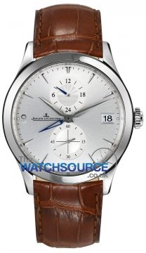 Jaeger LeCoultre Master DualTime Mens watch, model number - 1628430, discount price of £5,100.00 from The Watch Source