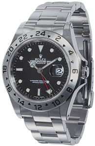 Rolex Explorer Mens watch, model number - 16570 Black Dial, discount price of £4,750.00 from The Watch Source
