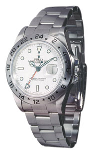 Rolex Explorer Mens watch, model number - 16570 White Dial, discount price of £4,750.00 from The Watch Source
