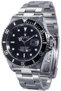 Rolex Oyster Perpetual Submariner Date Mens watch, model number - 16610, discount price of £4,500.00 from The Watch Source
