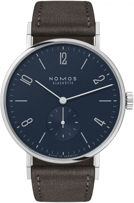 Nomos Glashutte Tangente 38 37.5mm 167 watch