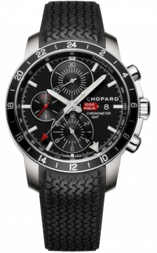 Chopard Mille Miglia GMT Chronograph Mens watch, model number - 168550-3001, discount price of £3,285.00 from The Watch Source
