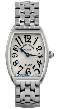 Franck Muller Cintree Curvex Ladies watch, model number - 1752 QZ O Silver , discount price of £3,440.00 from The Watch Source