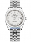 Rolex Datejust 31mm Stainless Steel 178240 White Roman Jubilee watch