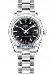Rolex Datejust 31mm Stainless Steel 178240 Black Index Oyster watch