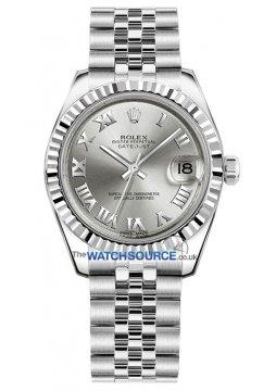 Rolex Datejust 31mm Stainless Steel 178274 Rhodium Roman Jubilee watch
