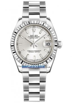 Rolex Datejust 31mm Stainless Steel 178274 Silver Index Oyster watch
