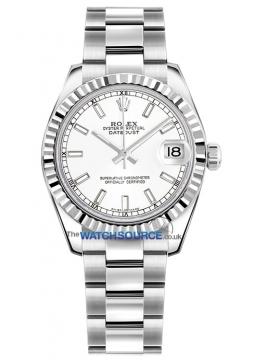 Rolex Datejust 31mm Stainless Steel 178274 White Index Oyster watch