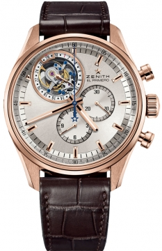 Zenith El Primero Tourbillon Chronograph Mens watch, model number - 18.2050.4035/01.c713, discount price of £44,380.00 from The Watch Source