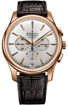 Zenith Captain Chronograph Mens watch, model number - 18.2110.400/01.c498, discount price of £10,258.00 from The Watch Source