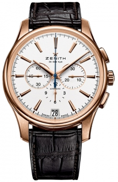 Zenith Captain Chronograph Mens watch, model number - 18.2111.400/01.c498, discount price of £10,375.00 from The Watch Source