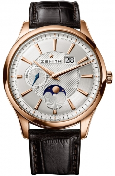 Zenith Captain Moonphase Mens watch, model number - 18.2140.691/02.c498, discount price of £9,565.00 from The Watch Source