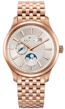Zenith Captain Moonphase Mens watch, model number - 18.2140.691/02.m2140, discount price of £16,480.00 from The Watch Source