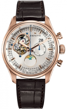 Zenith El Primero Chronomaster Open Grande Date Mens watch, model number - 18.2160.4047/01.c713, discount price of £15,830.00 from The Watch Source