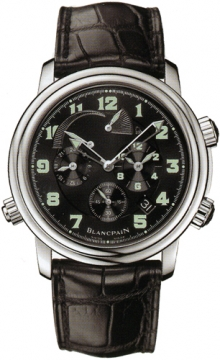 Blancpain Leman Reveil GMT Mens watch, model number - 2041-1130m-53b, discount price of £12,460.00 from The Watch Source