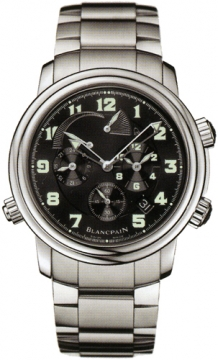 Blancpain Leman Reveil GMT Mens watch, model number - 2041-1130m-71, discount price of £13,405.00 from The Watch Source