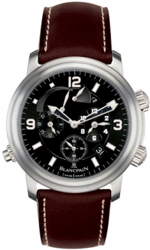 Blancpain Leman Reveil GMT Mens watch, model number - 2041-1230-63b, discount price of £13,405.00 from The Watch Source