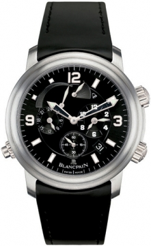 Blancpain Leman Reveil GMT Mens watch, model number - 2041-1230-64b, discount price of £13,405.00 from The Watch Source