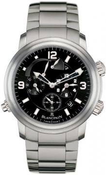 Blancpain Leman Reveil GMT Mens watch, model number - 2041-1230-98, discount price of £16,150.00 from The Watch Source