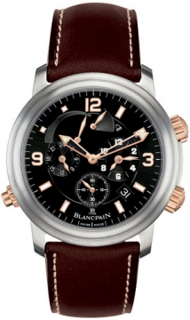 Blancpain Leman Reveil GMT Mens watch, model number - 2041-12a30-63b, discount price of £15,415.00 from The Watch Source