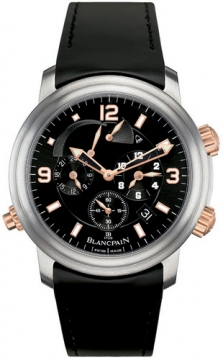 Blancpain Leman Reveil GMT Mens watch, model number - 2041-12a30-64b, discount price of £15,415.00 from The Watch Source