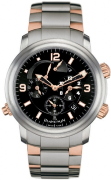 Blancpain Leman Reveil GMT Mens watch, model number - 2041-12a30-98, discount price of £18,900.00 from The Watch Source