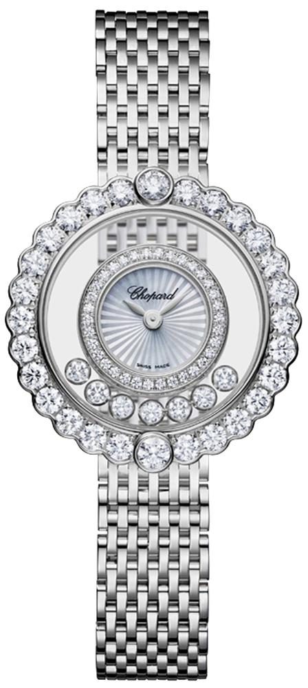 7640d1fbf0ed Buy this new Chopard Happy Diamonds 204180-1201 ladies watch for the ...