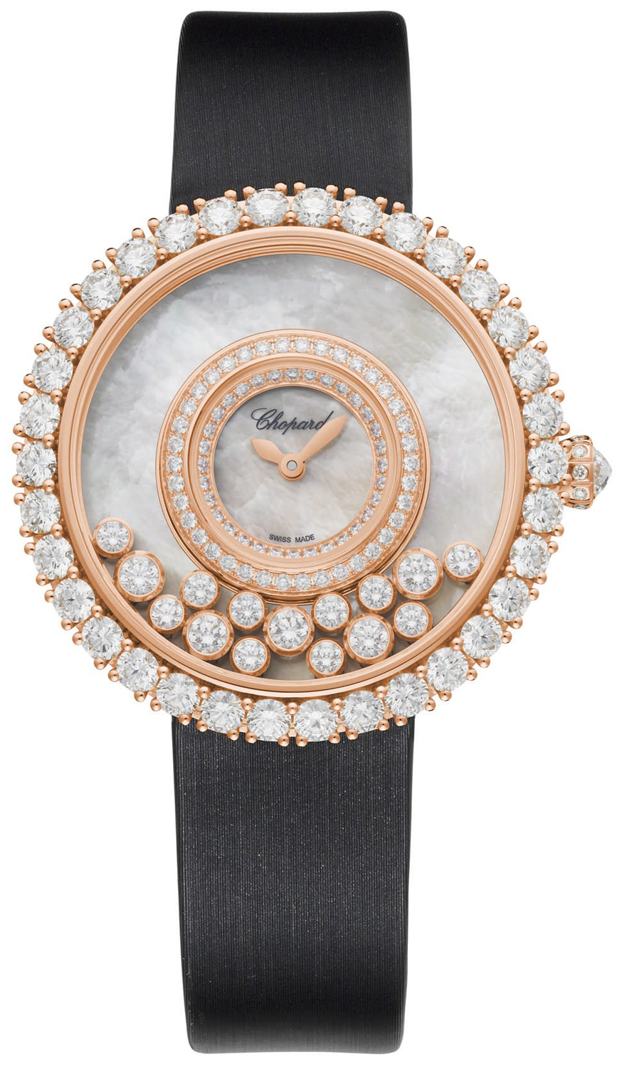3e6df557b0d8 Buy this new Chopard Happy Diamonds 204445-5001 ladies watch for the ...