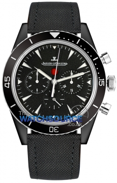 Jaeger LeCoultre Deep Sea Chronograph Cermet Mens watch, model number - 208a570, discount price of £11,250.00 from The Watch Source