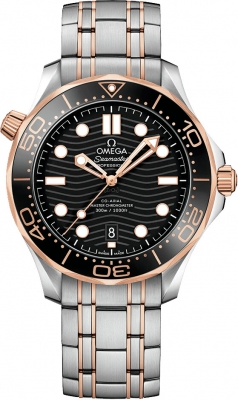Omega Seamaster Diver 300m Co-Axial Master Chronometer 42mm 210.20.42.20.01.001 watch