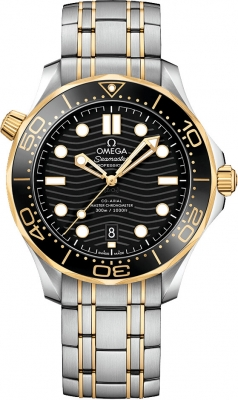 Omega Seamaster Diver 300m Co-Axial Master Chronometer 42mm 210.20.42.20.01.002 watch