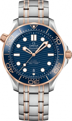 Omega Seamaster Diver 300m Co-Axial Master Chronometer 42mm 210.20.42.20.03.002 watch