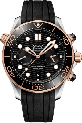 Omega Seamaster Diver 300m Co-Axial Master Chronometer Chronograph 44mm 210.22.44.51.01.001 watch