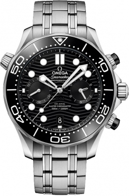 Omega Seamaster Diver 300m Co-Axial Master Chronometer Chronograph 44mm 210.30.44.51.01.001 watch