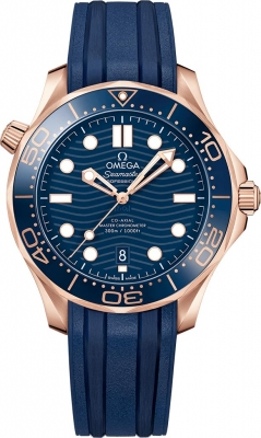 Omega Seamaster Diver 300m Co-Axial Master Chronometer 42mm 210.62.42.20.03.001 watch