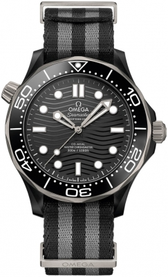 Omega Seamaster Diver 300m Co-Axial Master Chronometer 43.5mm 210.92.44.20.01.002 watch