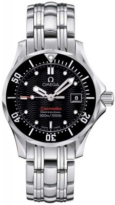 Buy this new Omega Seamaster 300m 212.30.28.61.01.001 ladies watch for the discount price of £1,440.00. UK Retailer.