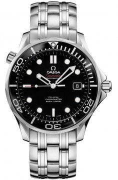 Omega Seamaster Diver 300m Co-Axial Automatic 41mm Mens watch, model number - 212.30.41.20.01.003, discount price of £2,350.00 from The Watch Source