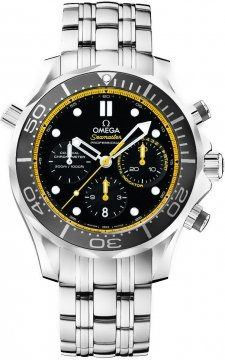 Omega Seamaster 300m Diver Co-Axial Chronograph 44mm 212.30.44.50.01.002 watch