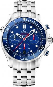 Omega Seamaster 300m Diver Co-Axial Chronograph 44mm Mens watch, model number - 212.30.44.50.03.001, discount price of £3,230.00 from The Watch Source