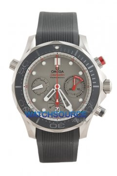 Buy this new Omega Seamaster 300m Diver Co-Axial Chronograph 44mm 212.92.44.50.99.001 mens watch for the discount price of £4,576.00. UK Retailer.