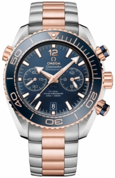 Buy this new Omega Planet Ocean 600m Co-Axial Master Chronometer Chronograph 45.5mm 215.20.46.51.03.001 mens watch for the discount price of £10,440.00. UK Retailer.