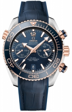 Buy this new Omega Planet Ocean 600m Co-Axial Master Chronometer Chronograph 45.5mm 215.23.46.51.03.001 mens watch for the discount price of £7,920.00. UK Retailer.