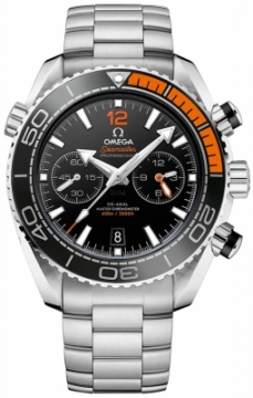 Buy this new Omega Planet Ocean 600m Co-Axial Master Chronometer Chronograph 45.5mm 215.30.46.51.01.002 mens watch for the discount price of £5,400.00. UK Retailer.