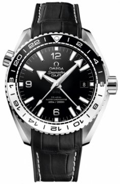 Buy this new Omega Planet Ocean 600m Co-Axial Master Chronometer GMT 43.5mm 215.33.44.22.01.001 mens watch for the discount price of £4,928.00. UK Retailer.
