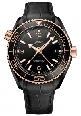 Buy this new Omega Planet Ocean 600m Co-Axial Master Chronometer GMT 45.5mm 215.63.46.22.01.001 mens watch for the discount price of £10,008.00. UK Retailer.