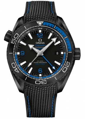 Omega Planet Ocean 600m Co-Axial Master Chronometer GMT 45.5mm 215.92.46.22.01.002 watch