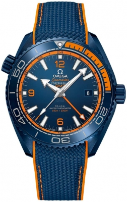 Omega Planet Ocean 600m Co-Axial Master Chronometer GMT 45.5mm 215.92.46.22.03.001 watch